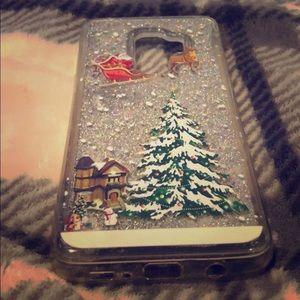Galaxy S9 plus Christmas phone case